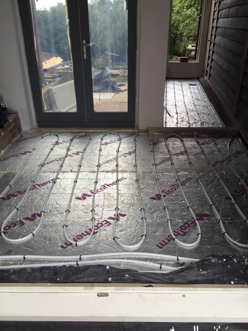Under Floor Heating - September 2016